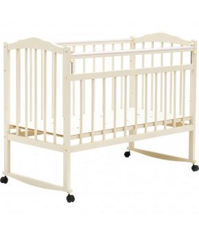 """Кровать детская  """"Bambini Classic"""" 09, слоновая кость."""