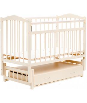 """Кровать детская  """"Bambini Classic"""" 10, слоновая кость."""