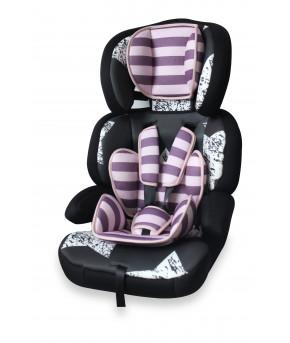 """Автокресло """"Lorelli"""" Junior Premium, розово черный (9-36кг)"""