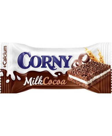 """Батончик """"Corni"""" злаковый с молоком и какао, 30гр"""