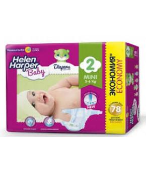 "Подгузники ""Helen Harper"" Baby 2 (3-6кг) 78шт"