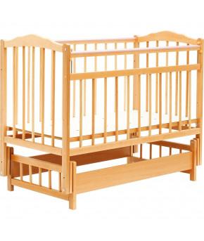 """Кровать детская """"Bambini"""" Classic 11, натуральный"""