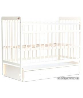 """Кровать детская """"Bambini"""" Euro Style 05, белый"""