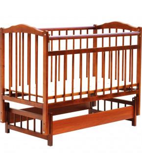 """Кровать детская """"Bambini"""" Classic 11, светлый орех"""