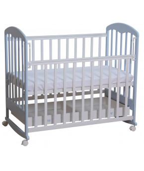 """Кровать детская """"Фея"""" 325, белый/лазурь"""