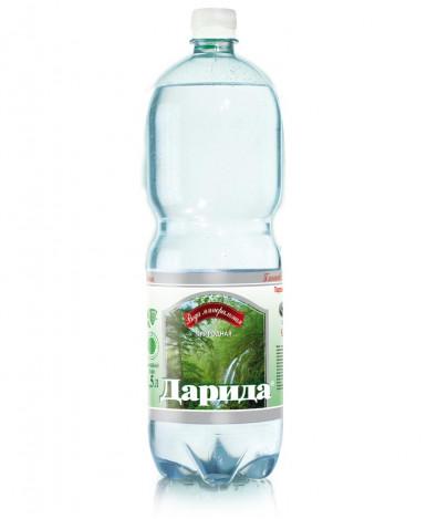 """Вода """"Darida"""" минеральная питьевая лечебно-столовая газированная, 1,5л"""