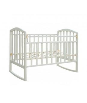 """Кровать детская  """"Bambini Classic"""" 09, белый."""
