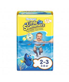 "Подгузники-трусики ""Huggies"" Little Swimmers для плавания 2-3 (3-8кг) 12шт"