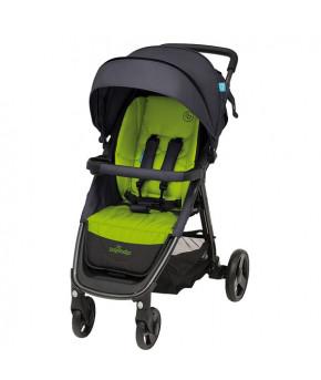 "Коляска прогулочная ""Baby Design"" Travel серо-зелёный"