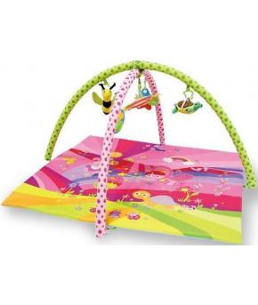 """Коврик """"Lorelli"""" Сказки, игровой, розовый, 89х84см"""