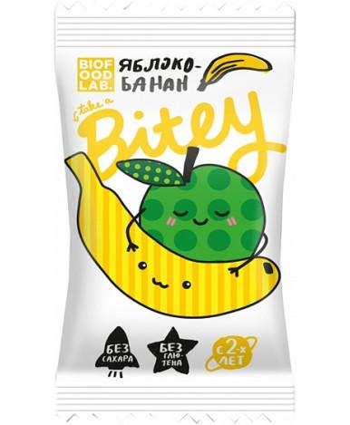 """Батончик """"Bitey"""" яблоко-банан фруктово-ягодный, 25гр"""