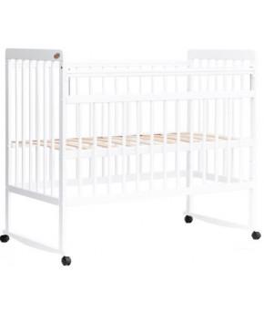 """Кровать детская  """"Bambini Euro Style"""" 03, белый."""