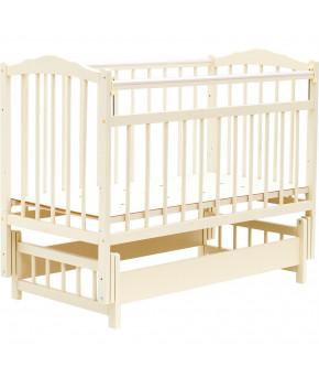 """Кровать детская """"Bambini"""" Classic 11, слоновая кость"""