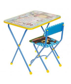 "Набор мебели ""Азбука 2. Маша и Медведь"" стол,стул мягкий КП2/2 3045286"