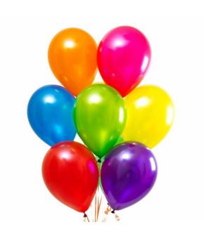 """Набор: шариков """"Карнавал"""" воздушных, латекс, в ассортименте, 10шт"""