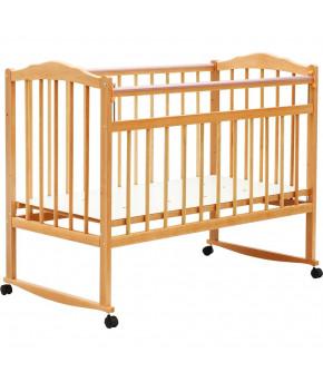 """Кровать детская  """"Bambini Classic"""" 09, натуральный."""