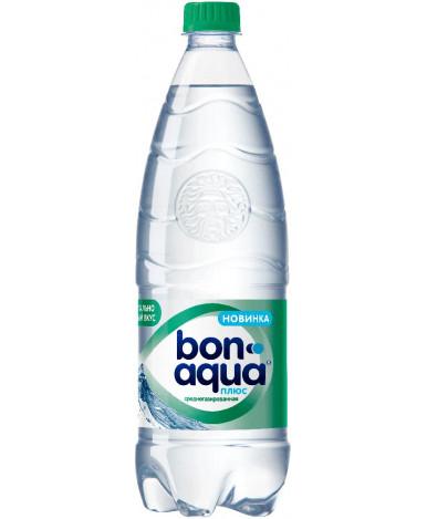"""Вода """"BonAqua"""" плюс среднегазированная, 1л"""