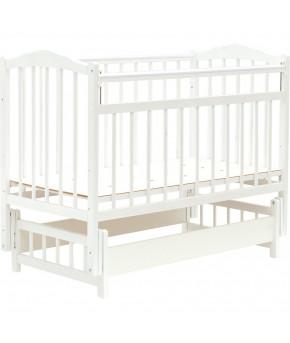 """Кровать детская """"Bambini"""" Classic 11, белый"""