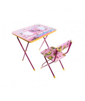 """Набор мебели """"Познайка. Азбука 3"""" Маша и Медведь стол, стул мягкий. МИКС 818 КП2 618036"""