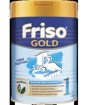 "Смесь ""Friso"" Gold 1 new молочная, 400гр"