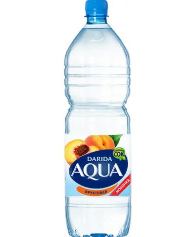"""Вода """"Darida"""" Aqua фруктовая с ароматом персика негазированная, 0.75л"""