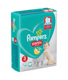 Подгузники-трусики Pampers Pants 3 (6-11 кг) 32шт