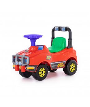 Автомобиль POLESIE Джип-каталка - №3,  красный