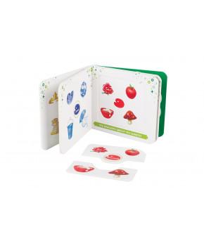 Настольная игра книжка - пазл Step puzzle Цвета