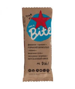 Батончик Bite фруктово-ореховый Шоколад-мускатный орех 45г