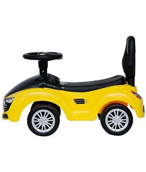 Автомобиль-каталка Molto (жёлтый)