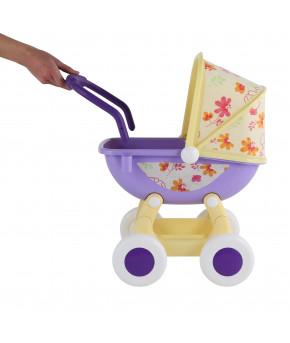 "Коляска Polesie для кукол ""Arina №2"" 4-х колёсная (в пакете)"