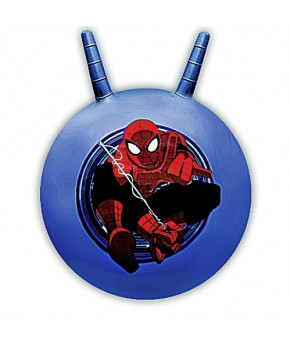 """Мяч """"Disney"""" Человек Паук с ручкой, синий (55см)"""