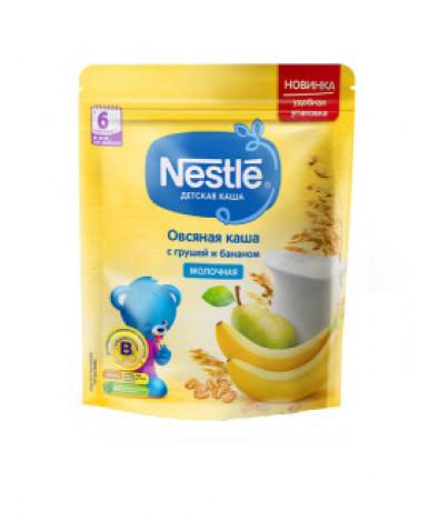 Каша Nestle овсяная груша и банан молочная дой-пак 220г