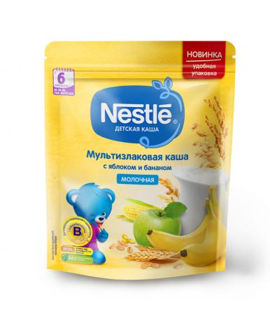 Каша Nestle мультизлаковая яблоко банан 220г