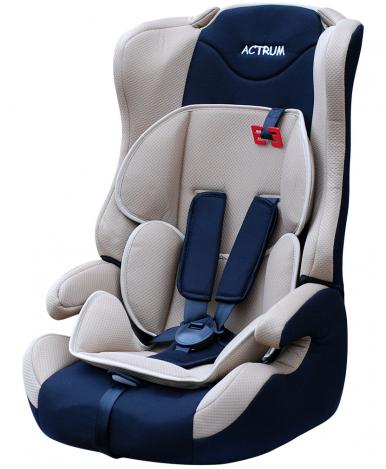 """Автокресло """"Actrum"""" DL-513 бело синий (9-36кг)"""