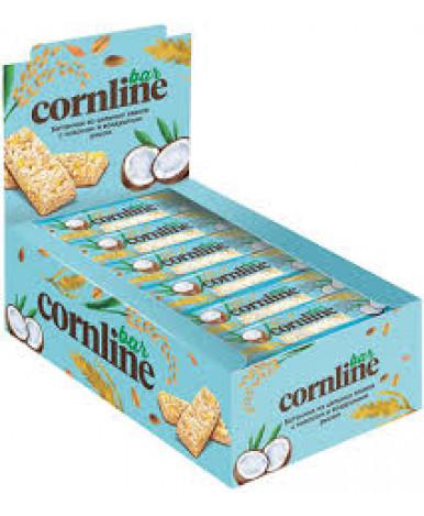Батончик злаковый Corniline зерновой c кокосом 30г