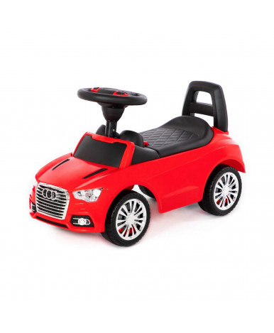 Автомобиль-каталка Полесье SuperCar №2 со звуковым сигналом красная