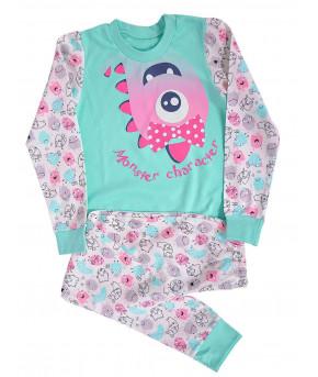 Пижама для девочек Bambak  р-р 110-116-56
