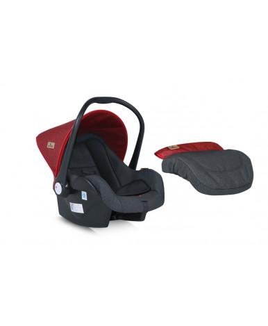 Автокресло Lorelli Lifesaver Black Red (0-13кг)