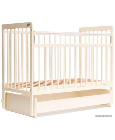 Кровать детская Bambini Euro Style 05, слоновая кость