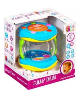 Развивающая игрушка BamBam Музыкальный барабан