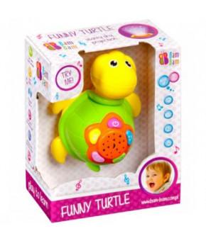 Развивающая игрушка BamBam Музыкальная черепаха