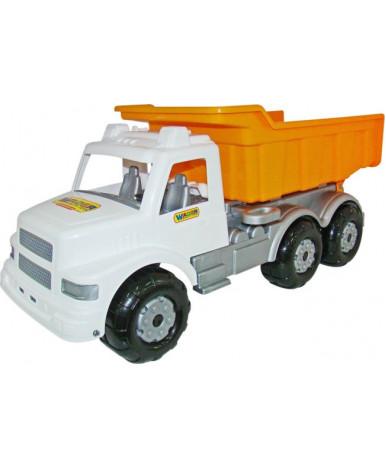 Автомобиль дорожный Полесье Буран бело-оранжевый