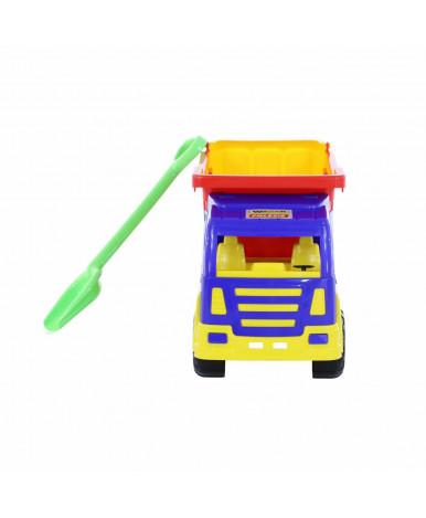Автомобиль-самосвал Polesie Премиум  + лопата большая