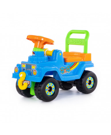 Автомобиль-каталка Полесье Джип 4х4 №3 (голубой)