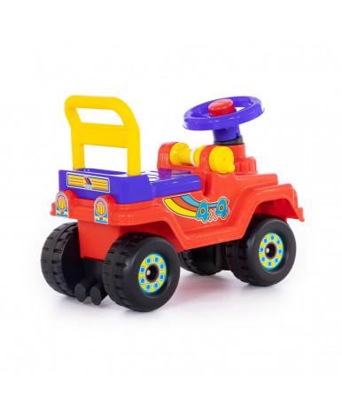 Автомобиль-каталка Полесье Джип 4х4 №3 (красный)