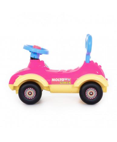 Автомобиль-каталка Полесье Сабрина для девочек №4