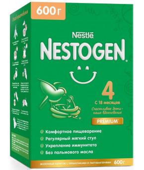 Смесь Nestle Nestogen 4 Premium молочная 600г