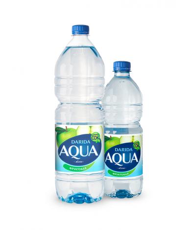 """Вода """"Darida"""" Aqua фруктовая с ароматом яблока негазированная, 0,5л"""
