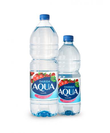 """Вода """"Darida"""" Aqua фруктовая со вкусом клюквы негазированная, 0,75л"""